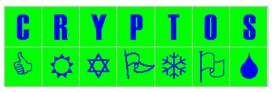 The CRYPTOS LOGO